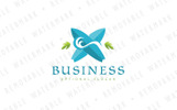 Tidal Wave Surfing Logo Template
