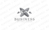 Tidal Wave Surfing Logo Template Big Screenshot