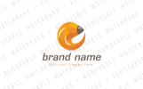 Pencil Circle Logo Template