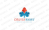 Maple Leaf Cruise Logo Template