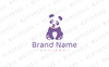 Lovely Panda Logo Template Big Screenshot