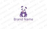 Lovely Panda Logo Template