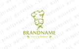Thyme Cook Logo Template