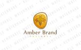 Amber Bug Logo Template