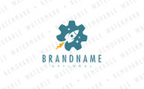 Rocket Engineering Logo Template