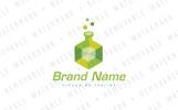 """Cubic Flask"" modèle logo"