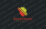 Secure File Transfer Logo Template