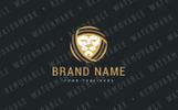 Lion Fabrics Logo Template