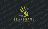 Farming Handprint Logo Template