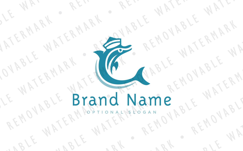 Dolphin Sailor Logo Template #69225