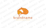 Fox Brain Logo Template