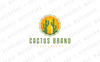 Cactus Beverage Logo Template Big Screenshot