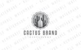 Cactus Beverage Logo Template