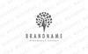 Lightning Tree Logo Template Big Screenshot