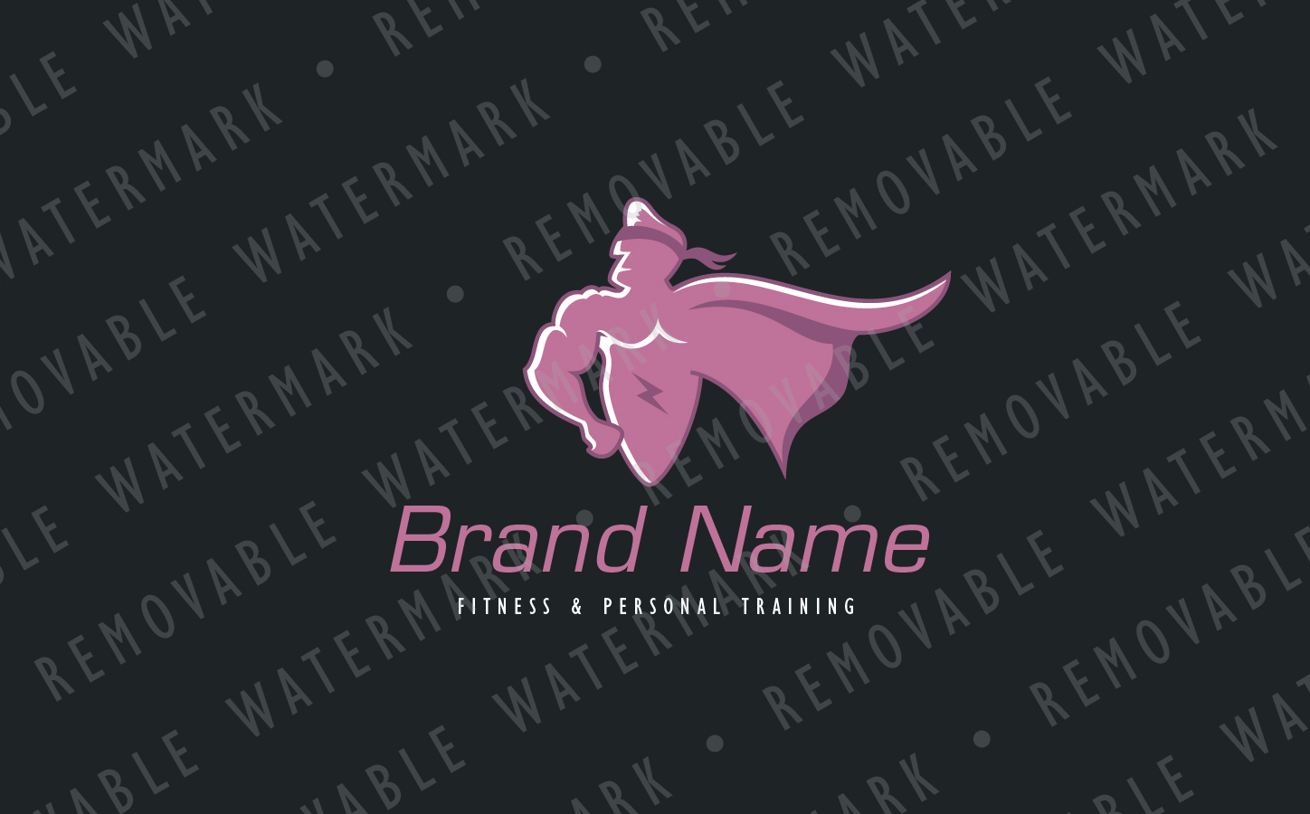 super hero logo template 70912