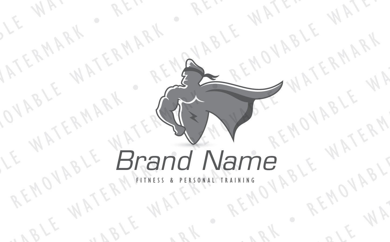 super hero logo template 70912