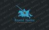 Szablon Logo Tournament Knight #75661 Duży zrzut ekranu