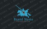 Szablon Logo Tournament Knight #75661