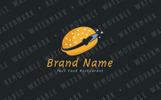 """Logo Vorlage namens """"Rocket Burger"""""""