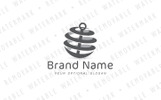 Anchor Globe Logo Template