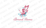 Magical Fairy Logo Template