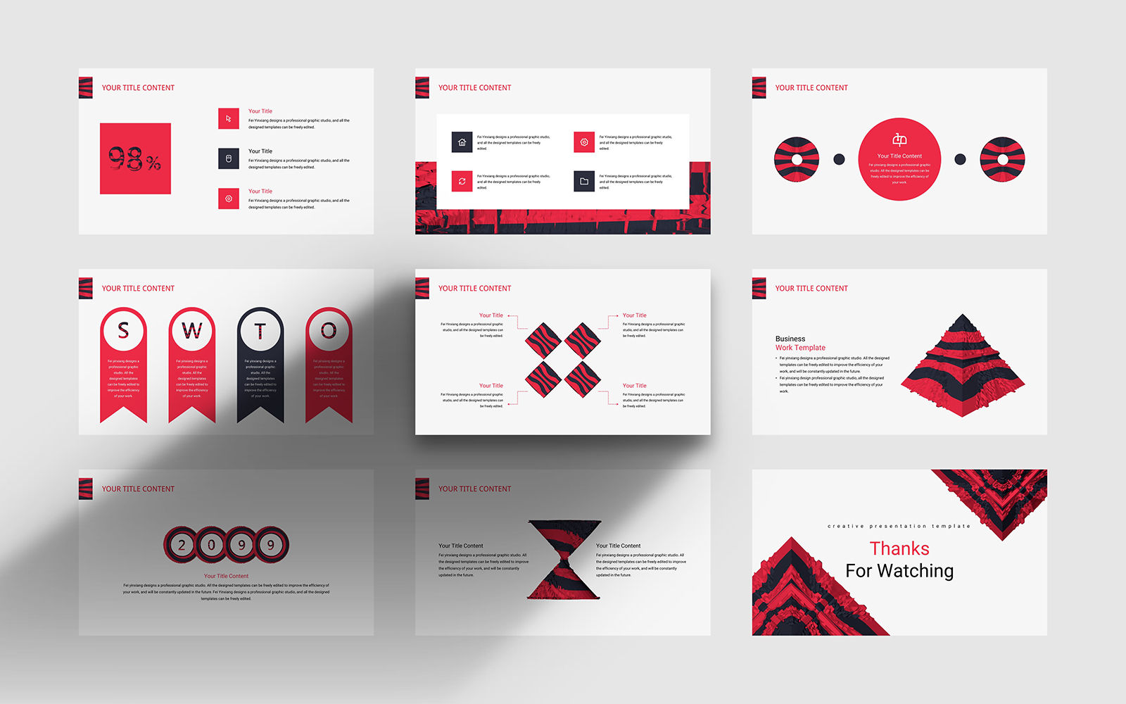 Fashion Creative PowerPoint Template