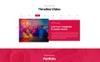 """PSD шаблон """"Portfolix Portfolio"""" Большой скриншот"""