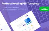 Rexhost Hosting PSD Template