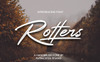 """Schriftart namens """"Rotters"""" Großer Screenshot"""