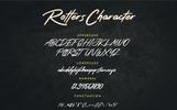"""Schriftart namens """"Rotters"""""""