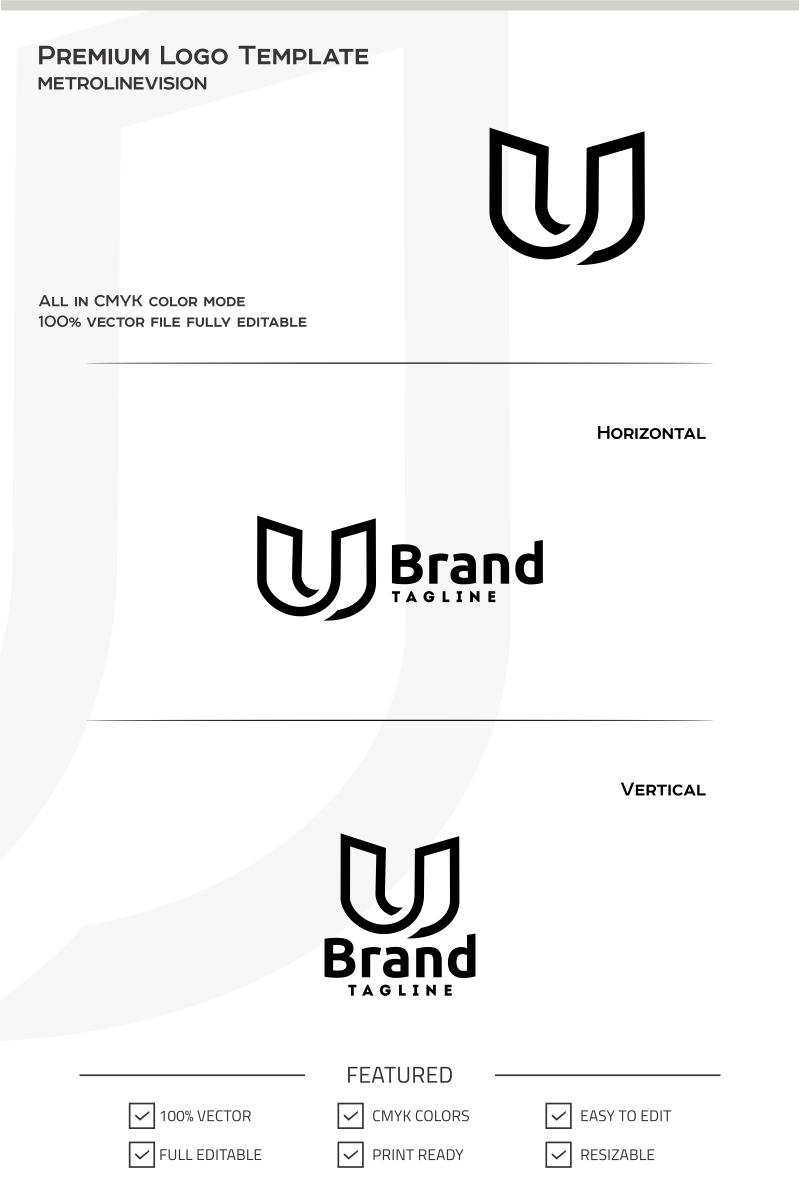 Letter U Logo Template
