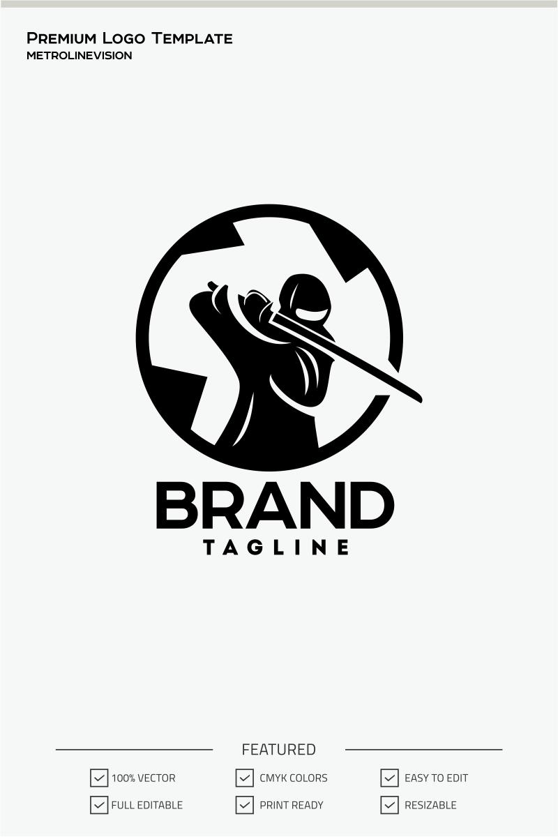 ninja logo template 70880