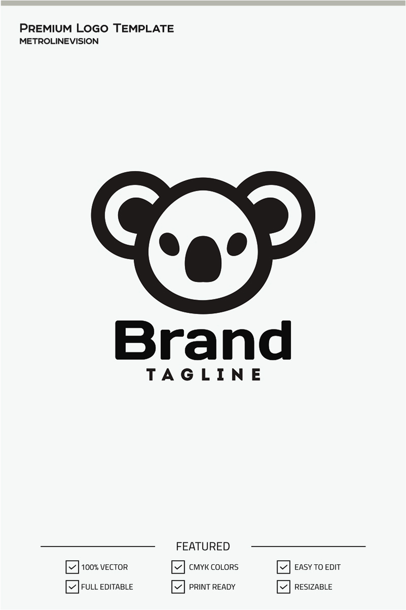 koala logo template 70973