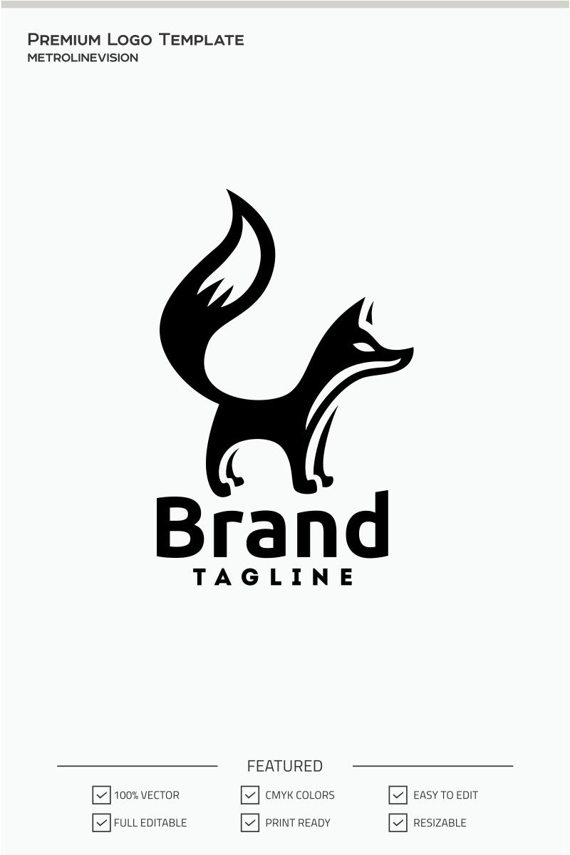 Black Fox Logo Template 71070