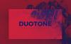 Premium Duotone Keynote Template En stor skärmdump
