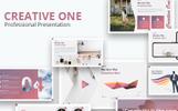 """PowerPoint šablona """"Creative One"""""""