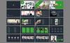 Ghaint PowerPoint sablon Nagy méretű képernyőkép
