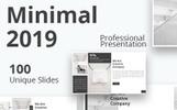 Minimal 2019 PowerPointmall