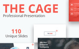 """""""The Cage - Multipurpose"""" modèle PowerPoint"""