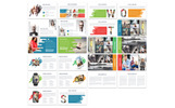 Business Style Powerpoint Presentation Template PowerPoint sablon
