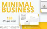 Minimal Business Premium PowerPoint sablon