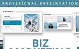 Szablon PowerPoint Biz Marketing #81123