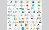 """PowerPoint Vorlage namens """"Modern One Pitch Deck"""" Großer Screenshot"""