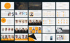 "PowerPoint Vorlage namens ""Amazing"" Großer Screenshot"