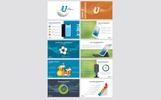 "Tema PowerPoint #81144 ""Unique Infographic"""