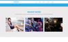 """Muse Template namens """"Andhera - Multipurpose"""" Großer Screenshot"""