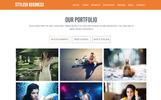 Stylish Business Template Muse №82299