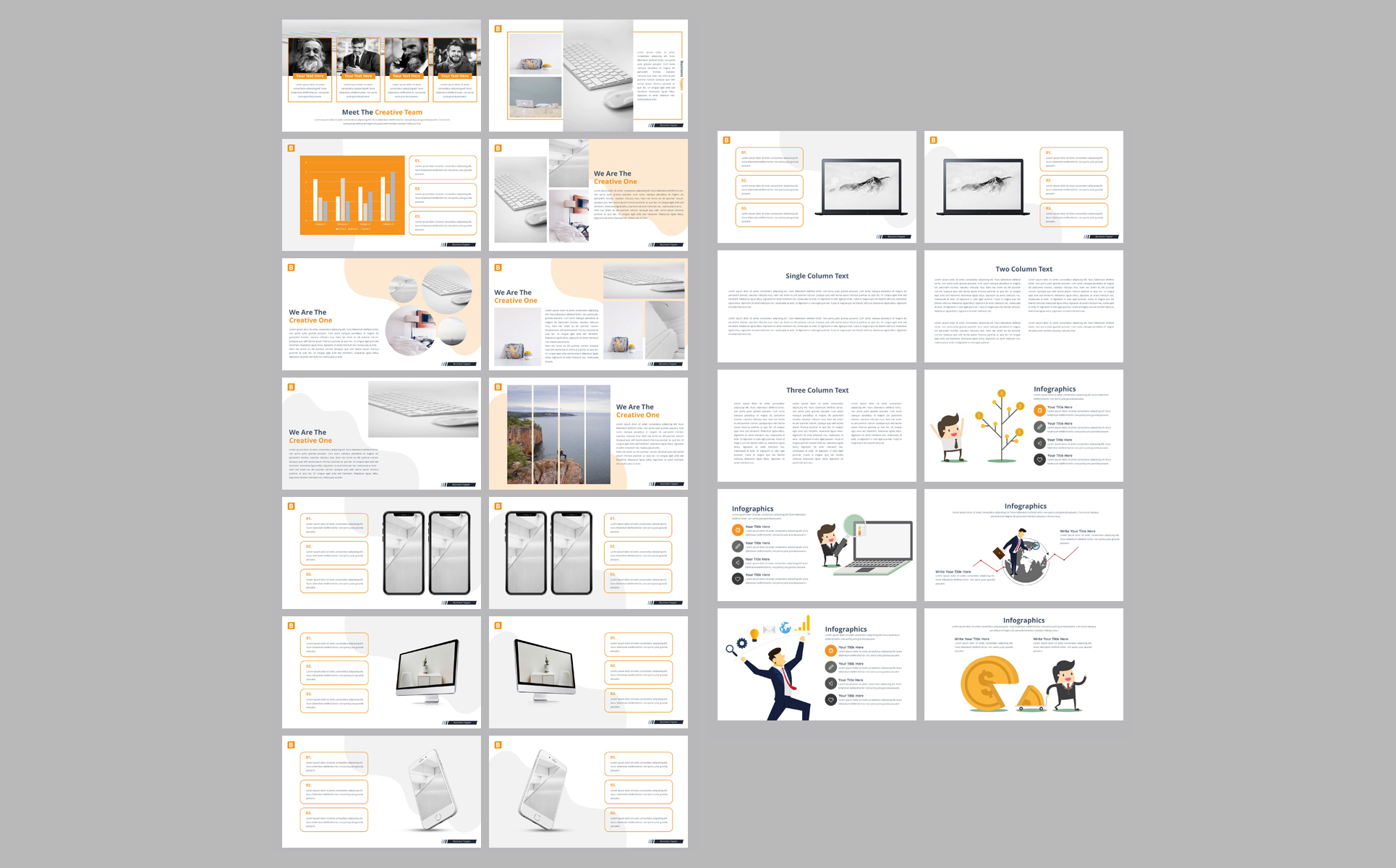 Business Topper PowerPoint Template
