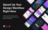 """UI-Elemente namens """"Origin Mobile Kit"""""""