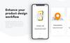 Taxi Driver Booking UI Kit Sketch Template Big Screenshot